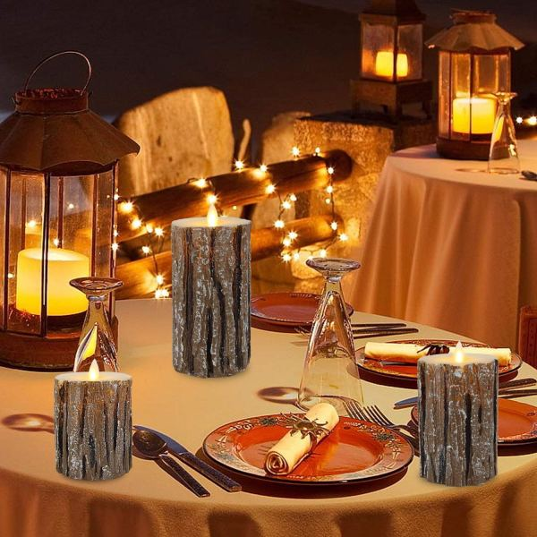 Flameless Candles Flickering Candles By Vinkor via CharmPosh Christmas Decorations 1
