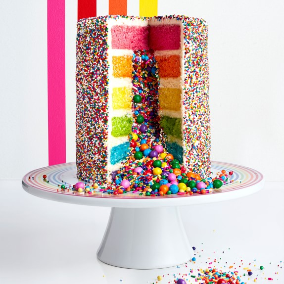 Rainbow Explosion Cake Kit By Flour Shop CharmPosh 1