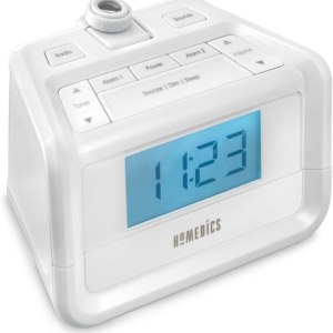 Dual Alarm Digital FM Clock Radio by Homedics CharmPosh