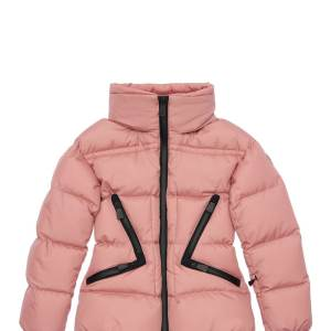 Girls MONCLER Grenoble Techno Nylon Ski Jacket Pretty In Pink CharmPosh