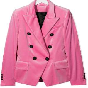 Balmain Kids Teen Double Breasted Blazer Fitted CharmPosh