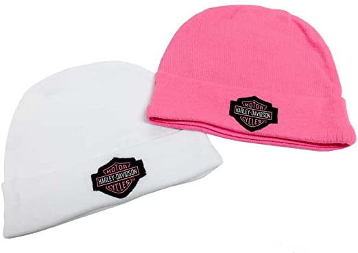 Baby-Girls-Embroidered-BS-Hats-by-Harley-Davidson-CharmPosh-Baby-Hats