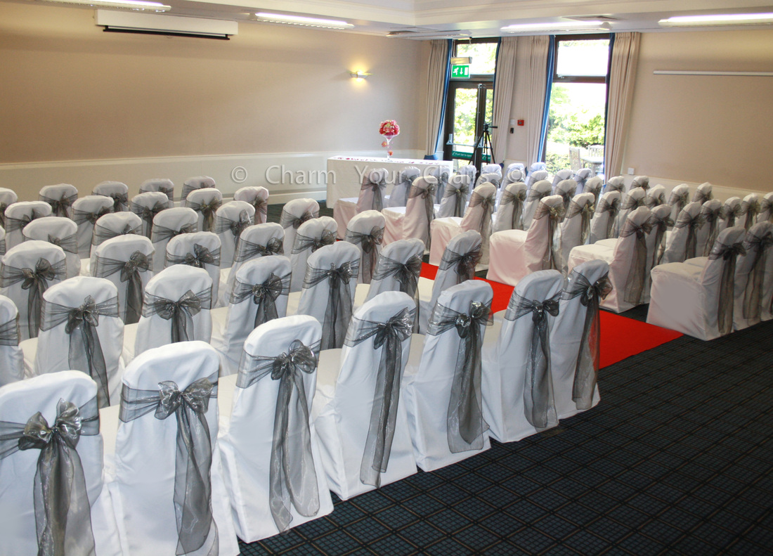 wedding chair covers warrington chairs with cup holders and balloons charm your more