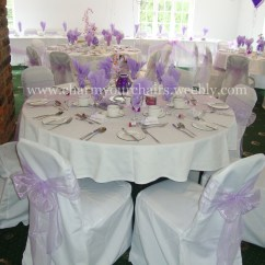 Wedding Chair Covers Warrington High Tray Cover And Balloons Charm Your Chairs More