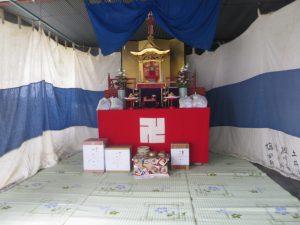 地蔵盆 茶六本館