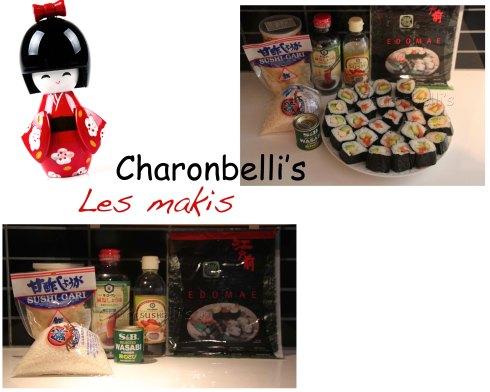 Charonbelli's se met aux makis (2) - Charonbelli's blog de cuisine