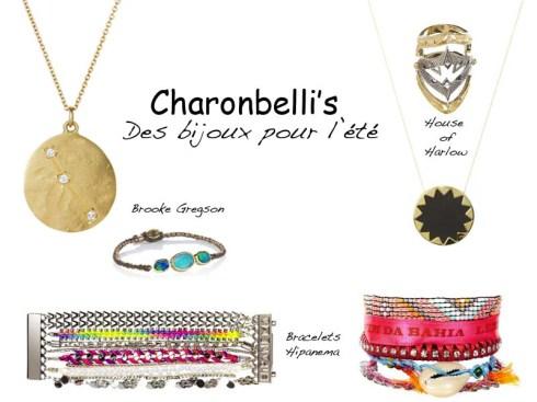Sélection bijoux pour l'été - Charonbelli's blog mode