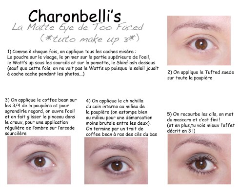 La Matte Eye de Too Faced (*tuto make up 3*) - Charonbelli's blog beauté