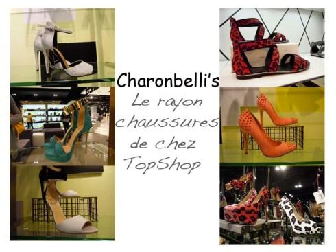 Le rayon chaussures de chez TopShop (2)- Charonbelli's blog mode