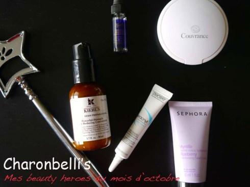 Mes beauty heroes du mois d'octobre avec Avène, Ducray, Sephora et Kiehl's (1)- Charonbelli's blog beauté