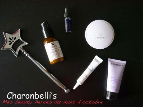 Mes beauty heroes du mois d'octobre avec Avène, Ducray, Sephora et Kiehl's - Charonbelli's blog beauté