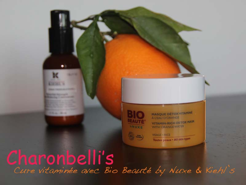 ma cure de vitamine c avec bio beaut by nuxe et kiehl s charonbelli 39 s. Black Bedroom Furniture Sets. Home Design Ideas