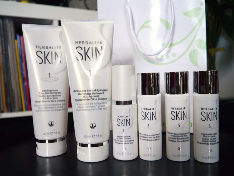 J'ai testé la gamme SKIN Herbalife (1) - Charonbelli's blog beauté
