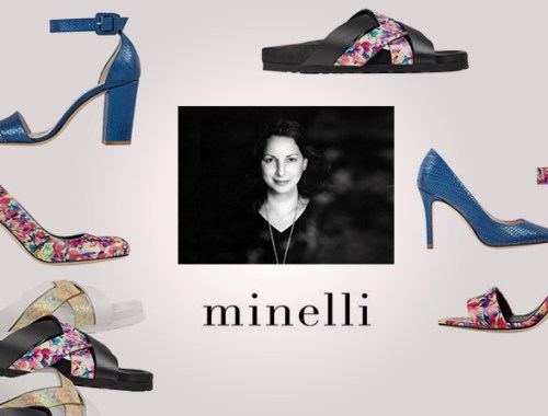 Minelli X Anne Valérie Hash - presentation de la collection - Charonbelli's blog mode