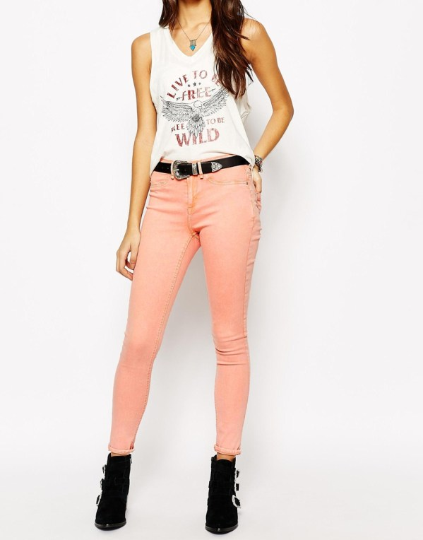 Skinny jean pastel Blend - Charonbelli's blog mode
