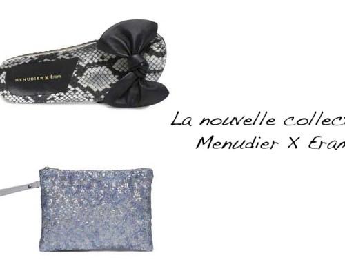 La nouvelle collection Menudier X Eram - image à la une - Charonbelli's blog mode