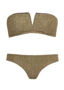 Bandeau de bain mousse sans armature or Princesse Tam-Tam - Je veux un nouveau maillot de bain ! - Charonbelli's blog mode