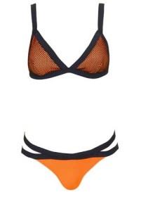 Bikini triangle en néoprène et résille TopShop - Je veux un nouveau maillot de bain ! - Charonbelli's blog mode
