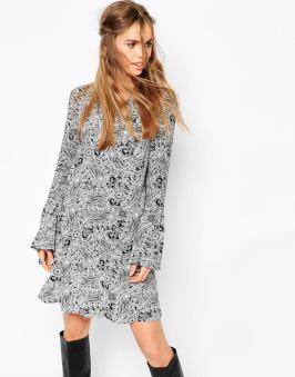 Robe à manches cloche First & I - sélection shopping spéciale festival - Charonbelli's blog mode