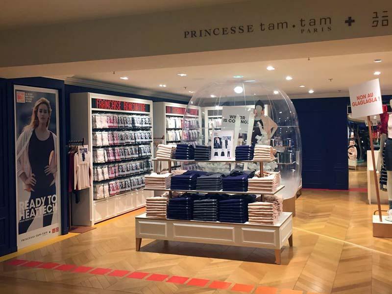 Princesse Tam Tam X Uniqlo - le pop up store des Galeries Lafayette Haussmann est ouvert ! (4) - Charonbelli's blog mode