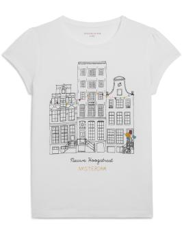 T-shirt manches courtes Monoprix - Back to school - Charonbelli's blog mode