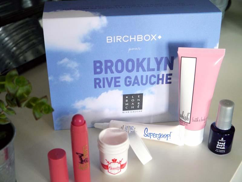Birchbox Brooklyn Rive gauche (2)- Charonbelli's blog beauté