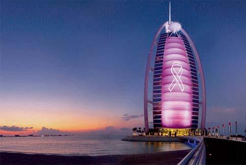 Hôtel Buri Al Arab Dubaï - #Octobrerose - le cancer du sein, parlons-en ! - Charonbelli's blog mode et beauté