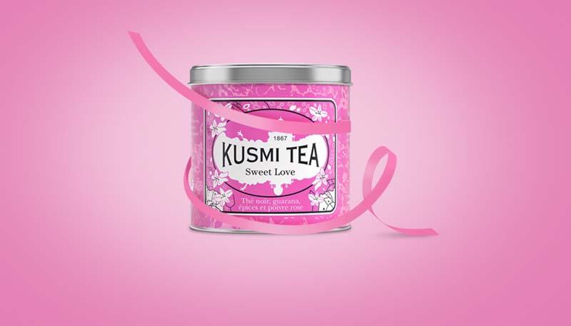 Kusmi Tea Sweet love - #Octobrerose - le cancer du sein, parlons-en ! - Charonbelli's blog mode et beauté
