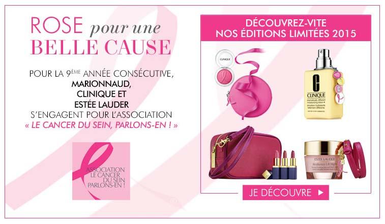 Marionnaud - #Octobrerose - le cancer du sein, parlons-en ! - Charonbelli's blog mode et beauté