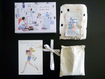 My Little Box créative du mois d'octobre (1) - Charonbelli's blog beauté