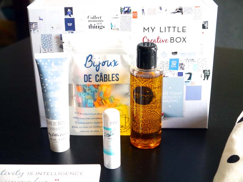 My Little Box créative du mois d'octobre (5) - Charonbelli's blog beauté