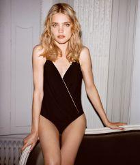 Body tulle croisé Etam - Charonbelli's blog mode