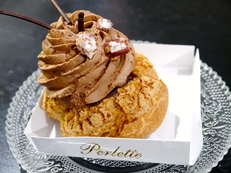 Chou au chocolat - La pâtisserie Perlette - mon nouveau QG gourmand - Charonbelli's blog lifestyle