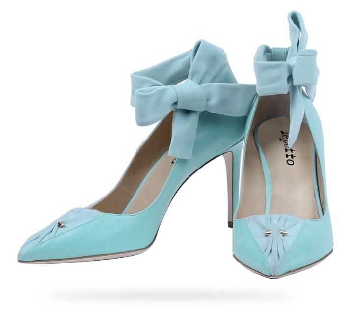 Escarpin piercing rose bleu collection Detroit Repetto - Charonbelli's blog mode