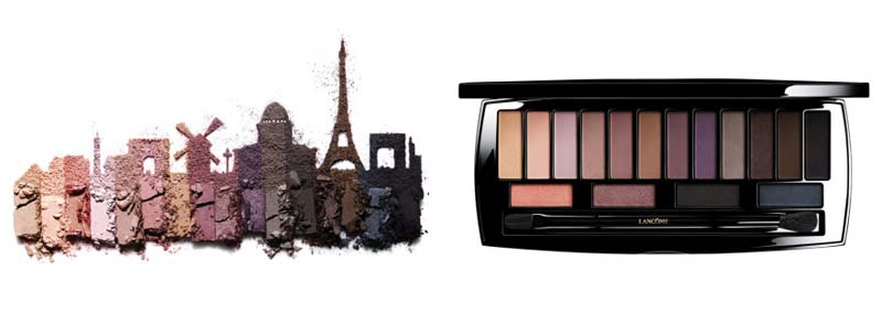 Palette Audacity in Paris Lisa Eldridge X Lancome - Charonbelli's blog beauté