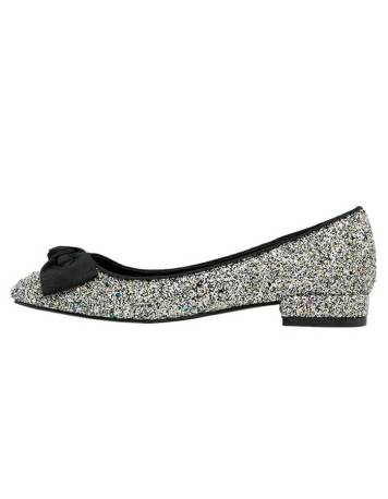 Chaussures a paillettes argentees Dorothy Perkins - Charonbelli's blog mode