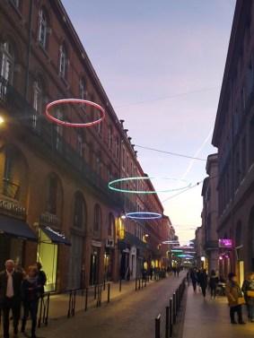 Mon Toulouse pendant les fetes - Rue Saint Antoine du T - Charonbelli's blog mode et beaute