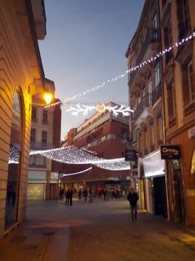 Mon Toulouse pendant les fetes - rue de la pomme - Charonbelli's blog mode et beaute