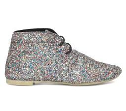 chaussures montantes a paillettes Eram - Charonbelli's blog mode