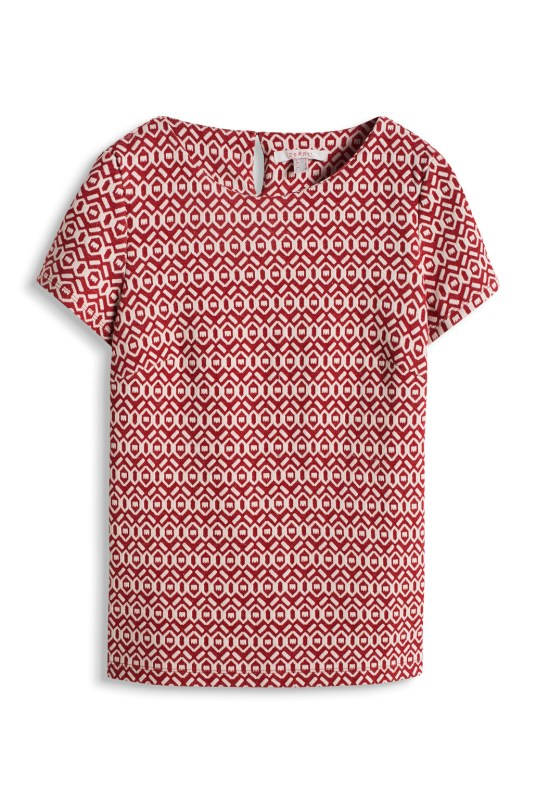 T-shirt-jacquard-Esprit-Charonbellis