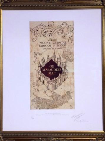 Marauders-map-Exhibition-Harry-Potter-House-of-MinaLima-London-Charonbellis