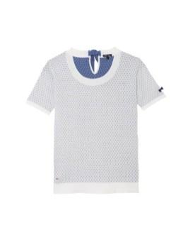 T-shirt-pois-Eden-Park-Charonbellis