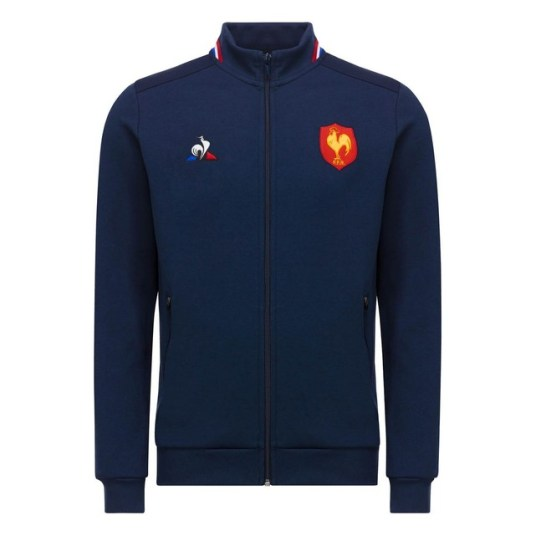 Veste-Le-Coq-sportif-FFR-France-Rugby-Charonbellis