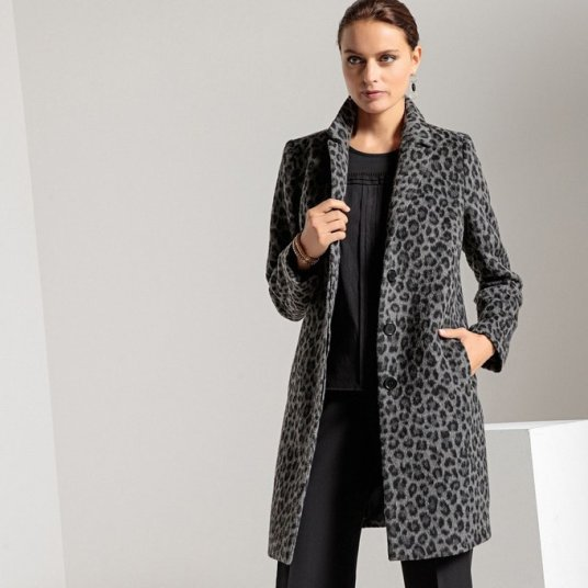 Manteau-mi-long-imprime-animalier-Anne-Weyburn-Charonbellis