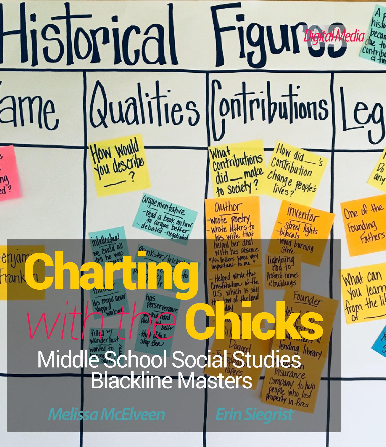 Social Stu S Blackline Masters Chart Chicks