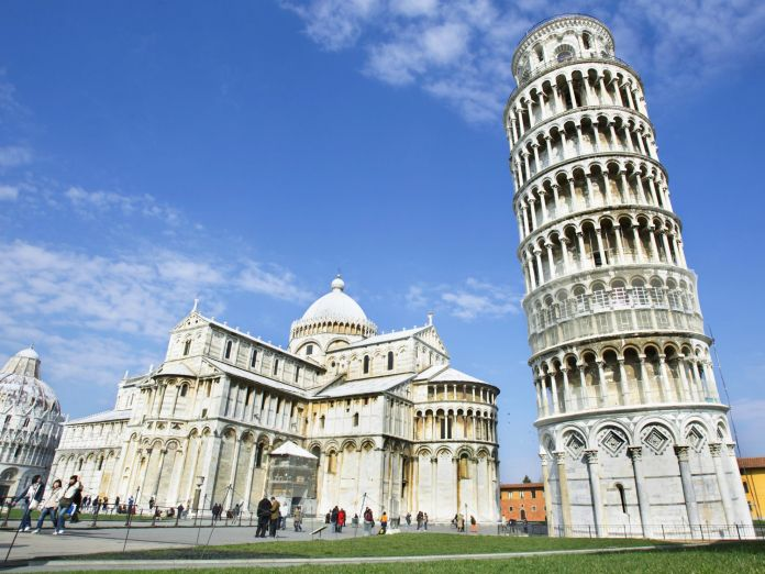 good trivia questions, Leaning Tower of Pisa