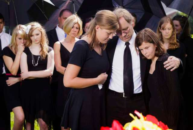 Family who lost a loved one