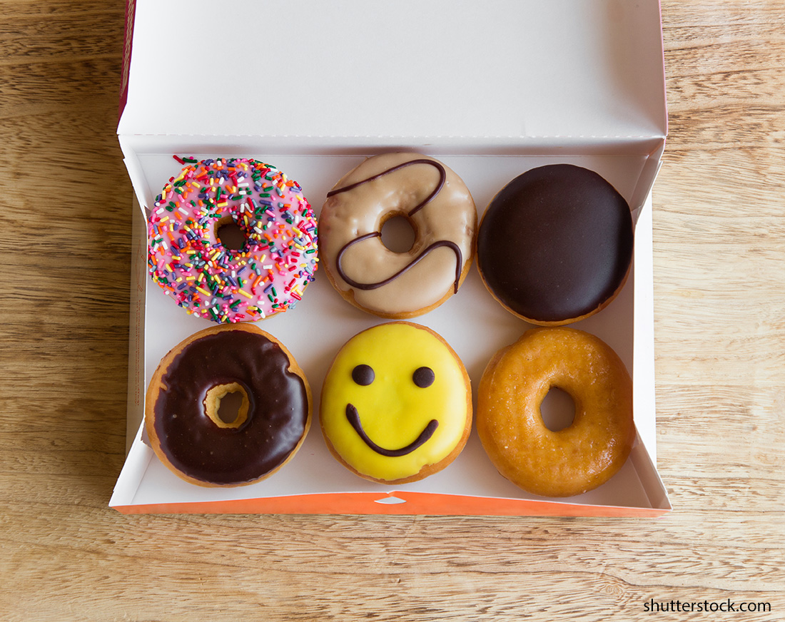 donuts-happy-face-office-perks