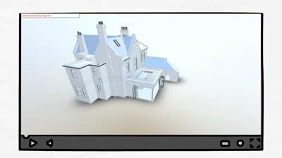 3D Digital model of house
