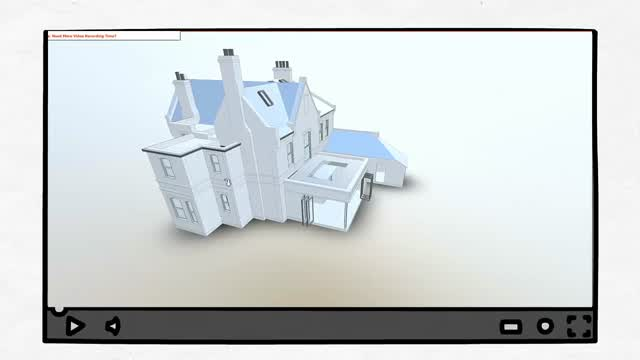 3D Digital model of house